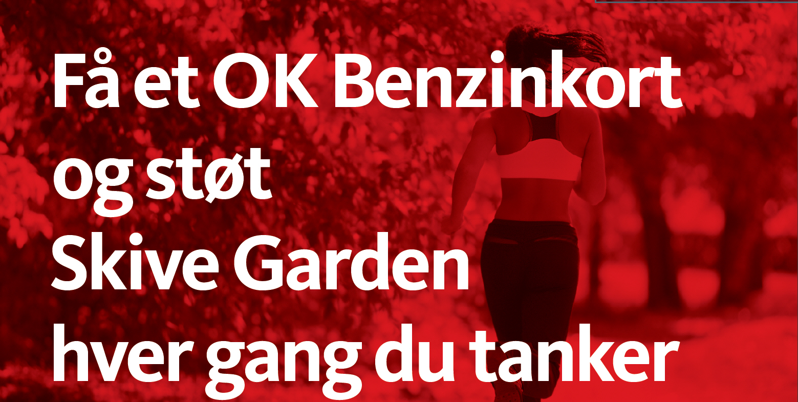 Støt Skive Garden, hver gang du tanker